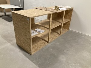 OSB Regal kostenlos / Shelf free of charge