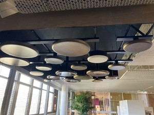 Disk- / Tellerdecke gratis / Disc ceiling free of charge